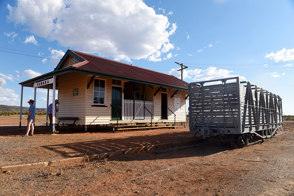 Yaraka - End of the line Station