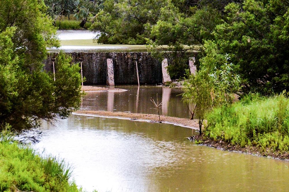 Isisford - Barcoo Weir - Isisford Town Weir