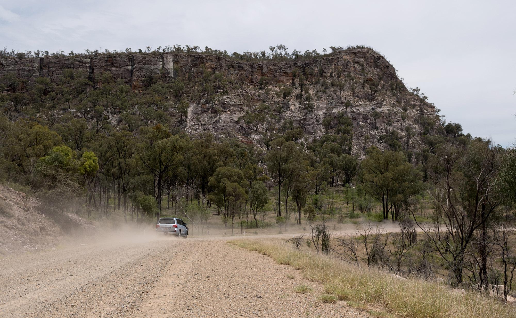 Tambo driving shot